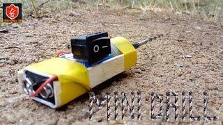 getlinkyoutube.com-How To Make Homemade Mini Drilling Machine - Mini Drill #Project 6