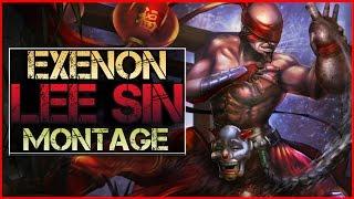 getlinkyoutube.com-Lee Sin Montage (Exenon) - Best Lee Sin Plays    League of Legends