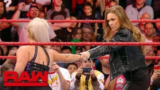 Ronda Rousey makes short work of Dana Brooke: Raw Exclusive, March 19, 2018 width=