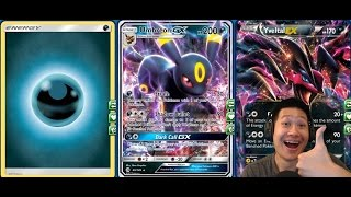 getlinkyoutube.com-Energy DISCARD UMBREON GX Deck, FAST and RELIABLE Beat Down Build