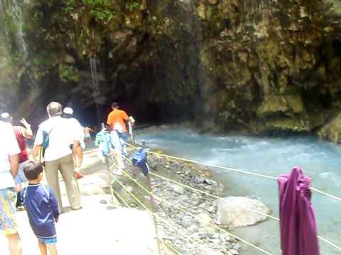 entrada a las grutas de tolantongo