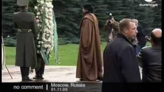 getlinkyoutube.com-Muammar Gaddafi visit to Russia