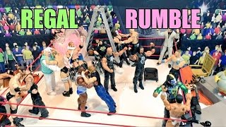 getlinkyoutube.com-GTS WRESTLING: Royal Rumble! WWE Mattel Elite Figure Animation PPV Championship Match