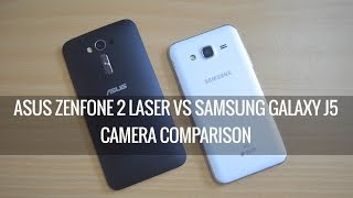 getlinkyoutube.com-ASUS Zenfone 2 Laser vs Samsung Galaxy J5- Camera Comparison | Techniqued
