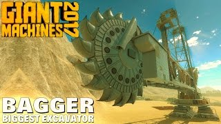getlinkyoutube.com-Giant Machines 2017 -  Bagger Biggest Excavator