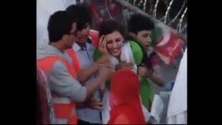 getlinkyoutube.com-Misbehave with girl at PTI Islamabad Jalsa