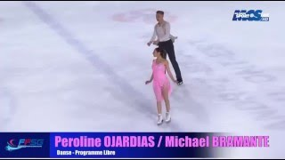 getlinkyoutube.com-Péroline OJARDIAS/Michael BRAMANTE - Championnat de France 2015 - FD