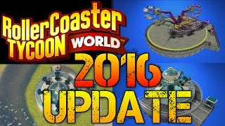 getlinkyoutube.com-Roller Coaster Tycoon World | January 2016 UPDATE