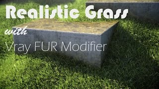 getlinkyoutube.com-Realistic Grass with Vray Fur Modifier