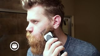 getlinkyoutube.com-EPIC beard trim with Clippers | Eric Bandholz