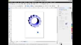 getlinkyoutube.com-Como hacer engranaje en CorelDRAW X5