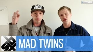 getlinkyoutube.com-MAD TWINS  |  Mad Russian Beatbox