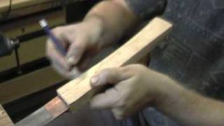 getlinkyoutube.com-Making katana koshirae, component tsuka 2/12