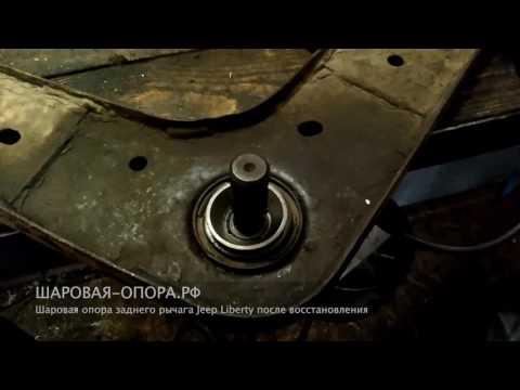 Где находятся сайлентблоки передних рычагов у Jeep Патриот