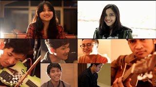 getlinkyoutube.com-Dekat di Hati - RAN (cover by Andri Guitara, Dinesia, Cikallia, Zoel, Rifan, Edwin, Guntur, Yadi