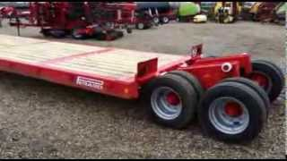 Quivogne UK's Perard Plat-O-Sol Low Loader Trailer