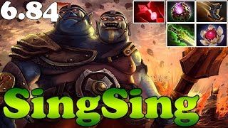 getlinkyoutube.com-Dota 2 - Patch 6.84 - SingSing Ogre Magi With Octarine Core and Lotus Orb -  FUCKING OP Plays Ranked