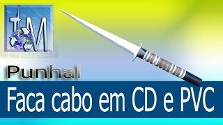 getlinkyoutube.com-Faca cabo em CD e PVC