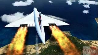 getlinkyoutube.com-Concorde On Fire
