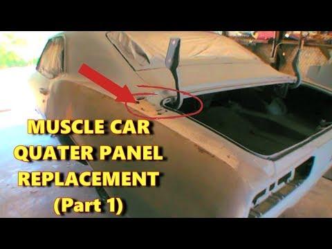 Quarter Panel Replacement - Car Restoration - Part 1