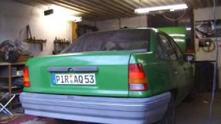 getlinkyoutube.com-Opel Kadett E Stufenheck Projekt