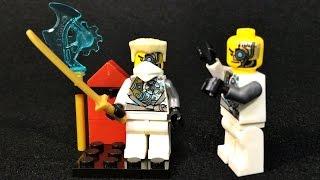 getlinkyoutube.com-Decool 닌자고 쟌 레고 짝퉁 미니피규어 조립 리뷰 Lego knockoff ninjago zane mini figure