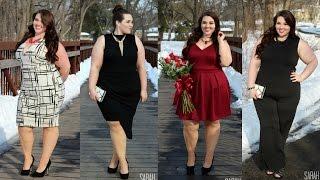 getlinkyoutube.com-Valentine's Day Lookbook 2015   Plus Size Fashion  