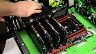 getlinkyoutube.com-4-Way SLI TITAN X и RAMPAGE V Extreme Watercool за 2 минуты