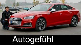 getlinkyoutube.com-Audi A5 Sportback S-line vs S5 Sportback V6 FULL REVIEW test driven new neu 2017