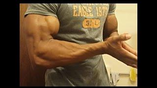 Biceps getting shredded