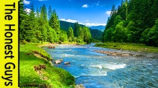 getlinkyoutube.com-9 HOURS NATURE SOUNDS: RIVER IN THE SHIRE. Relaxation (NO MUSIC) Sleep, Study, Meditation