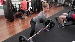getlinkyoutube.com-DeadLift / Leg Workout