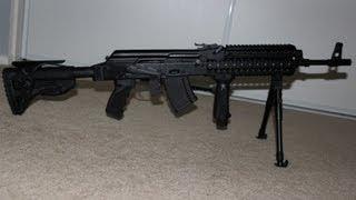 getlinkyoutube.com-Saiga AK47 Forearm