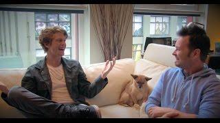 getlinkyoutube.com-Ninjago Zane interviews Morro (Andrew Francis) part one - the real voice actors!