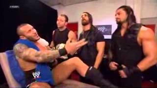 getlinkyoutube.com-The Shield and Randy Orton backstage