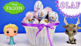 getlinkyoutube.com-Disney Frozen Surprise Toy Eggs Where is Olaf? Elsa Princess Anna Huevo Congelado Sorpresa Princesa