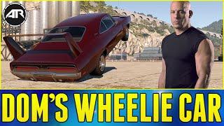 getlinkyoutube.com-Forza Horizon 2 : FAST AND FURIOUS WHEELIE CAR!!! (Dom's Charger Daytona Wheelie Build)