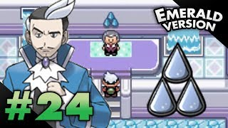 Let's Play Pokemon: Emerald - Part 24 - Sootopolis Gym Leader Juan width=