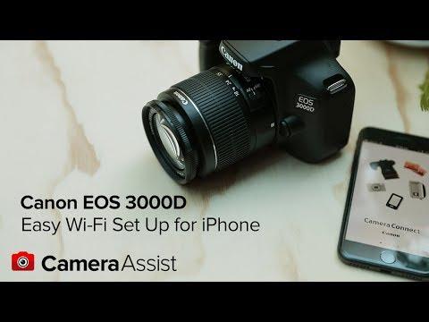 Canon EOS 3000D 18MP Lens Digital Camera