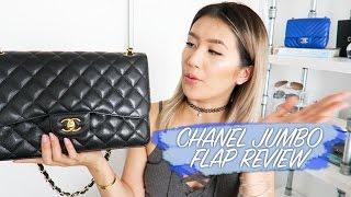 getlinkyoutube.com-Chanel Jumbo Flap Bag Review || Sylvia Jade