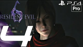 Resident Evil 6 (PS4) - Gameplay Walkthrough Part 4 - Carla Boss Fight (Ada) [1080P 60FPS]