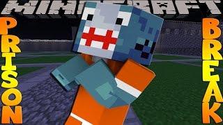 getlinkyoutube.com-Minecraft PRISON BREAK - SHARKY'S COVER GETS BLOWN!!