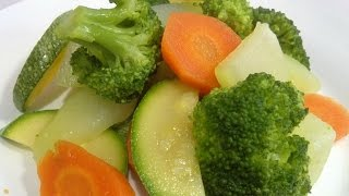 vegetables in the butter, Recipe #8, vegetables