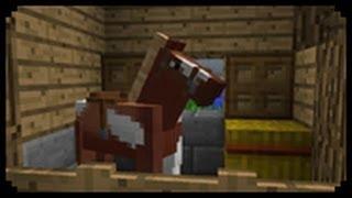 getlinkyoutube.com-✔ Minecraft: How to make a Horse Stable