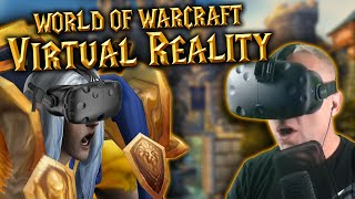 getlinkyoutube.com-World of Warcraft in VIRTUAL REALITY - HTC Vive Gameplay