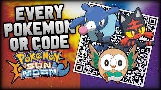 getlinkyoutube.com-Pokémon Sun and Moon COMPLETE Pokédex - All QR Codes