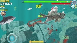 getlinkyoutube.com-Hungry Shark Evolution Moby Dick Android Gameplay #8