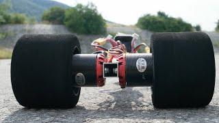 getlinkyoutube.com-DIY brushless rc dragster test