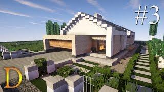 MINECRAFT PORADNIK - Jak zbudować: Nowoczesny dom parterowy [#3]