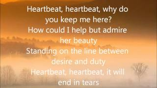 george micheal heartbeat with lyrics
